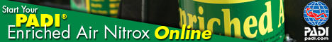 PADI eLearning Nitrox Course Anytime Anywhere