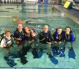 PADI Open Water Pool Class 4/14/17