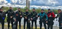PADI Open Water Checkout Dives 5/7/17