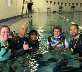 PADI Open Water Pool Class 5/26/17