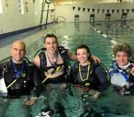 PADI Open Water Pool Class 5/12/17