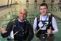 PADI Open Water Pool Class 6/9/17