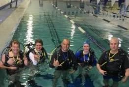 PADI Open Water Pool Class 6/16/17