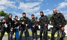 PADI Open Water Checkout Dives 7/16/17