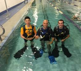PADI Scuba Diving Class At Hunterdon County YMCA