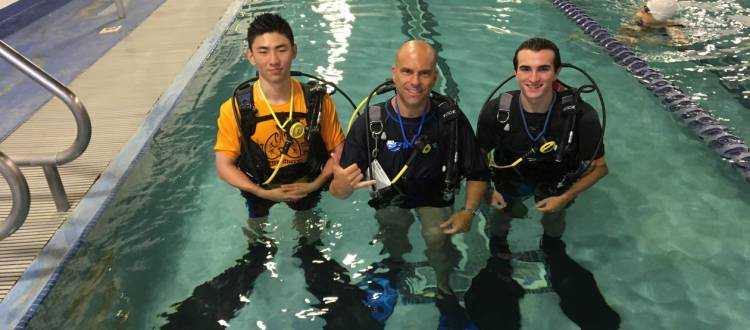 PADI Scuba Diving Class At Hunterdon County YMCA