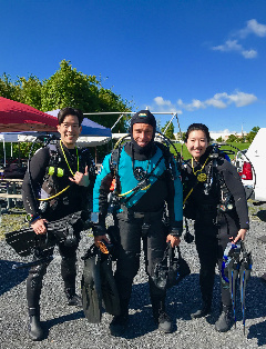 PADI Open Water Checkout DIves 9/9-9/10, 2017