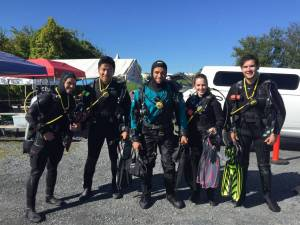PADI Open Water Checkout DIves 9/23-9/24, 2017