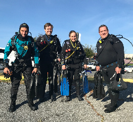 PADI Open Water Checkout Dives 10/22, 2017