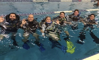 scuba diving classes Mercer County NJ