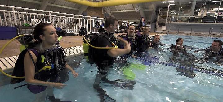 Scuba Diving Lessons Atlantic County