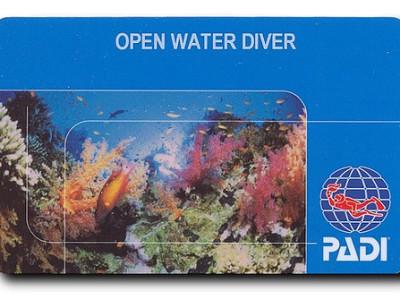 Diving License NJ
