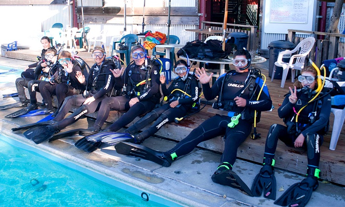 Open Water Scuba Instruction In NJ