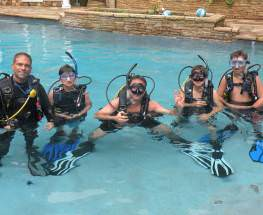 Open Water Diver Class Pool and Academics