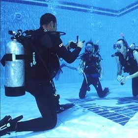 Scuba Diving Lessons Camden County